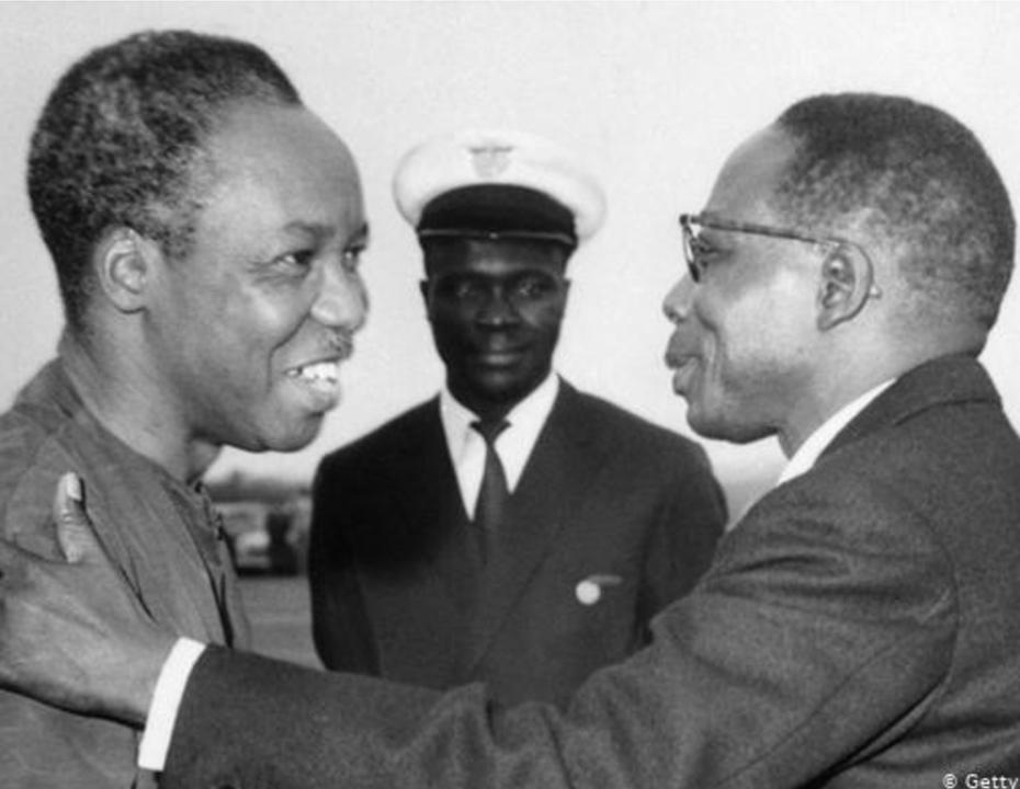 Julius Nyerere and Léopold Sédar Senghor